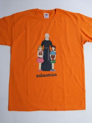 Kalazancius, fiú gyermekpóló sárga és narancs színben