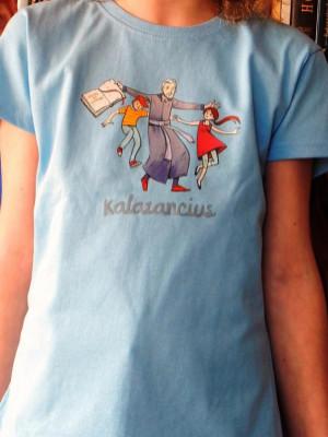 Kalazancius, lány világoskék póló 1.