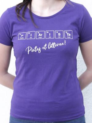 Periódusos női póló kétféle színben!