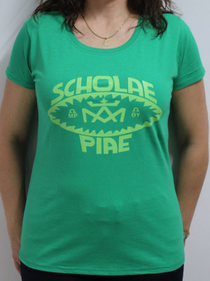 Scholae Piae retro női póló  3 féle színben